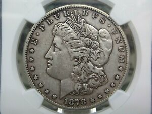 "1878 ""CC"" Morgan Silver Dollar $1 NGC XF Details East Coast Coin & Collectables"