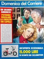 La Domenica del Corriere 17 Luglio 1975 Capelli Squalo Landolfi Richelieu Bosco