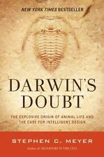 Darwin's Doubt Explosive Origin of Animal Life Case for Intelligent Design Meyer