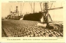 MARSEILLE étab VERMINCK usine croix-sainte huile embarquement cli audry