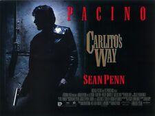 Carlito's Way movie poster print - Al Pacino, Sean Penn, Brian De Palma