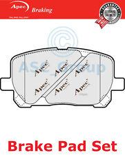 Apec Pastillas de Freno Frontales Set Repuesto de calidad OE pad1332