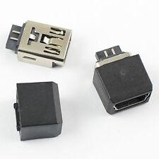10Pcs Mini USB Female 5 Pin Solder Type B Socket Connector