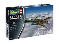MiG-21 SMT, Revell Flugzeug Bausatz 1:48, 03915