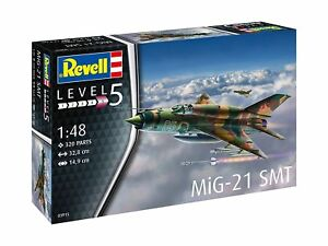 MiG-21 Smt, Revell Avion Kit de Montage 1:48, 03915