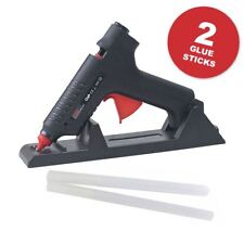 35-80W Cordless & Corded Electric Hot Melt Glue Gun with Sticks Craft Hobby