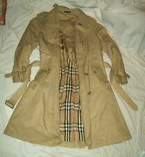 Unbranded Men's Khaki Double Breasted 38R Heavy Winter Over Coat Dress Jacket