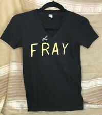 """Vintage """"The Fray"""" Concert Tour Womens T Shirt Small Black Combed Cotton As Is"""