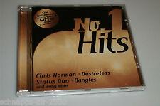 No. 1 HITS CD avec shakin stevens-Chris Norman-paul young-Nena-statu quo