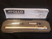 Apollo Executive Laser Pointer Class 3A Projects Black/Silv Silver Mp1350B
