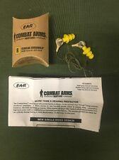 Combat Arms Earplugs Size Regular In Yellow