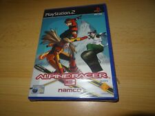 PS2 Alpine Racer 3 UK Pal, New  Sony Factory Sealed