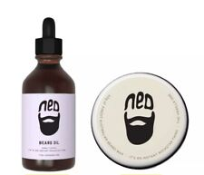 Ned Beard Wax And Oil Set DUO Pack