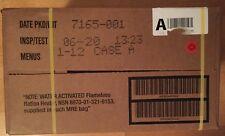 US MRE Meal, MRE Case  Nr. 1-12 (EPA), Insp.Test 06/2020,