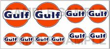 1:43 O SCALE GULF SIGN BOXCAR GAS STATION TANKER TRUCK DIORAMA DECALS