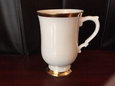 Royal Victoria England Fine Bone China Footed Mug