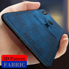 For Xiaomi Mi Mix 3 2 Max 3 2 Hybrid Silicone Deer Cloth Case Shockproof Cover