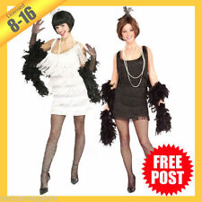 Polyester Flapper Costumes for Women