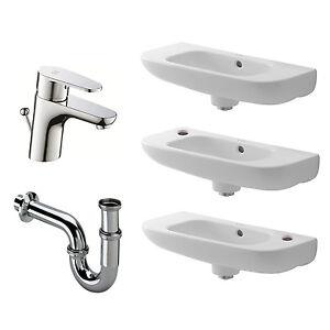Duravit Handwaschbecken D-Code 50 x 22 cm mit oder ohne Hahnloch 070650 weiß