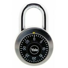 Yale Classic Series Stainless Steel Rotary Dial Combination Padlock Y140/50/122