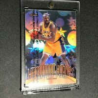SHAQUILLE O'NEAL SHAQ 1998 TOPPS FINEST #H2 HARDWOOD HONORS HOLOGRAM W/ COATING