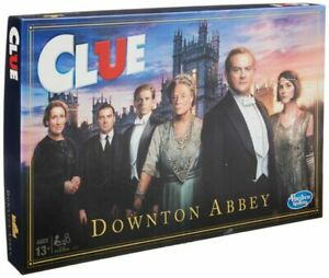 Hasbro Clue Downton Abbey Edition Board Game.  Brand new