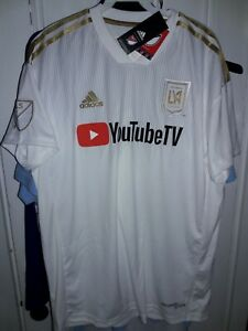 Los Angeles Football Club LAFC YouTubeTV soccer Jersey Inaugural Season shirt S
