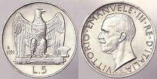 5 LIRE 1930 REGNO D'ITALIA VITTORIO EMANUELE III Q.Fdc #6103