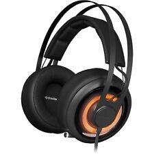 SteelSeries Siberia Elite Prism Gaming Stereo Headset, Black, 51191 PC/MAC