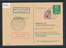 79560) LH FF Frankfurt - Stuttgart 31.10.55, GA ab DDR