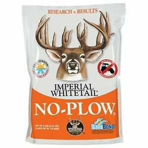 Whitetail Institute Imperial No-Plow High-Protein Deer Game Food Plot Feed 5lb
