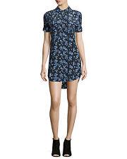 NWT- Equipment 'Slim Signature' Silk Shirtdress- Size XS Retail $298