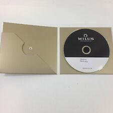 Milus press kit Basel 2015