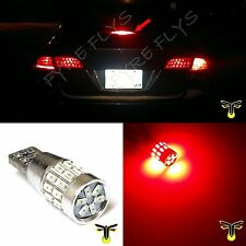 1x red 30-LED 3014 3rd brake light bulbs high mount upper center stop #R4x1