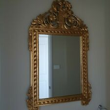 Antique Style Gold Wall Mirror