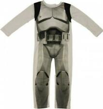 Boys Star Wars Stormtrooper All In One/Playsuit/Fancy Dress Costume 4 5 6 7 year