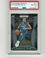 2019 Panini Prizm Silver #77 PJ Washington Jr. RC Rookie PSA 10 Hornets