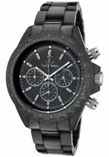 New ToyWatch FLP08BK Plasteramic Fluo Pearly Chronograph Watch $255 GREAT GIFT