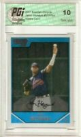 Jason Heyward 2007 Bowman Chrome 1st Rookie Card PGI 10