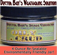 Oily Crud Weathering Solution-4oz Doctor Ben's Scale Consortium Craftsman Scale