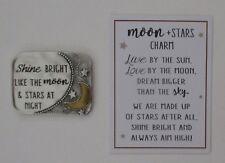 m Shine bright like MOON & STARS at night Pocket token charm ganz