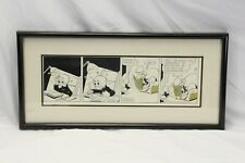 Donald Duck Original Art Newspaper Comic Strip Panel Disney 1979 King Features