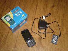 Used Black Nokia 2322c 2G Mini-Sim Card Unlocked Cell Phone