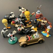 Bulk Lot Of 13 Warner Bros Looney Tunes Figures Toys Pepe Le Pew Bugs Bunny PVC