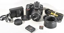 Nikon D D3200 24.2MP Digital SLR Camera with AF-S DX VR II 18-55mm Lens