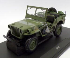 Norev 1/18 Scale Model Car 189013 - 1942 Jeep - Green