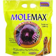 Mole Max and Vole Repellent Granules, 10 Lbs Use on Lawns, Garden, Planting Bed