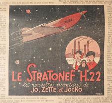 TINTIN + JO et ZETTE dans Coeurs Vaillants année complète 1937 Hergé
