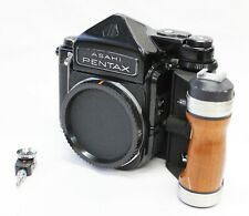 [Exc Pentax 6x7 TTL Mirror Up Camera w/ Wood Grip and Self Timer from Japan