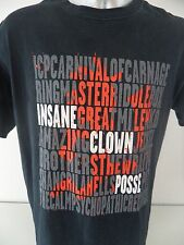 Insane Clown Posse Carnival of Carnage Psychopathic Records XL T Shirt Juggalo
